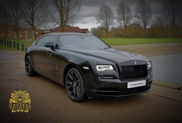 Black Rolls Royce Wraith 1